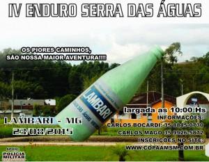 CARTA IV ENDURO SERRA DAS AGUAS